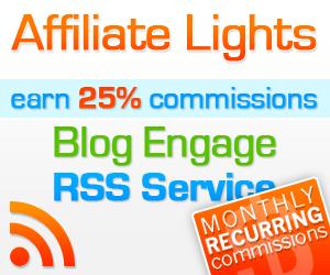 Blog Engage Affiliate Lights Program