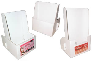 Brochure Holders  Flyer Holders And Literature Holders Cardboard Brochure Holders