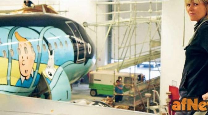 I retroscena dell'Airbus A320 con Tintin