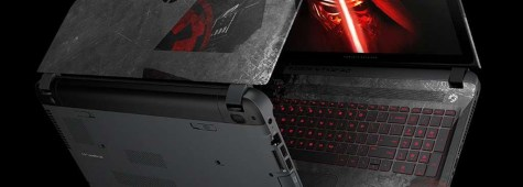 "Feel the Power of the Dark Side With HP's New ""Star Wars"" Laptop"