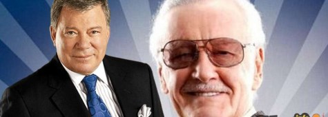 Stan Lee e William Shatner presenteranno un progetto comune!