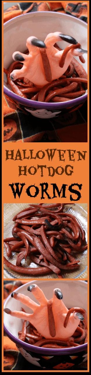 Hot Dogs Ingredients Worms