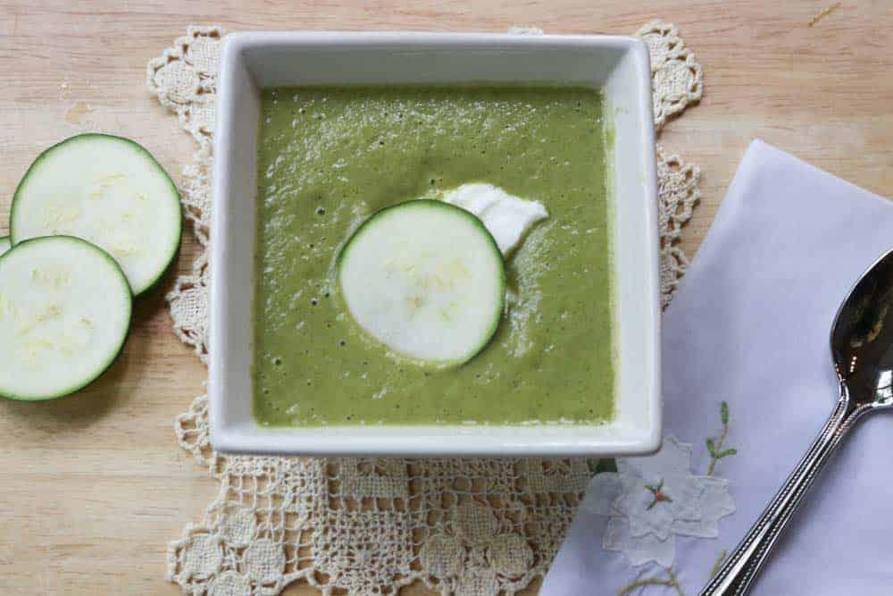 Zucchini Curry Soup Recipe