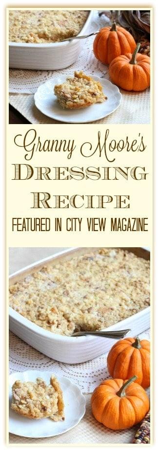 Granny Moore's Dressing Recipe
