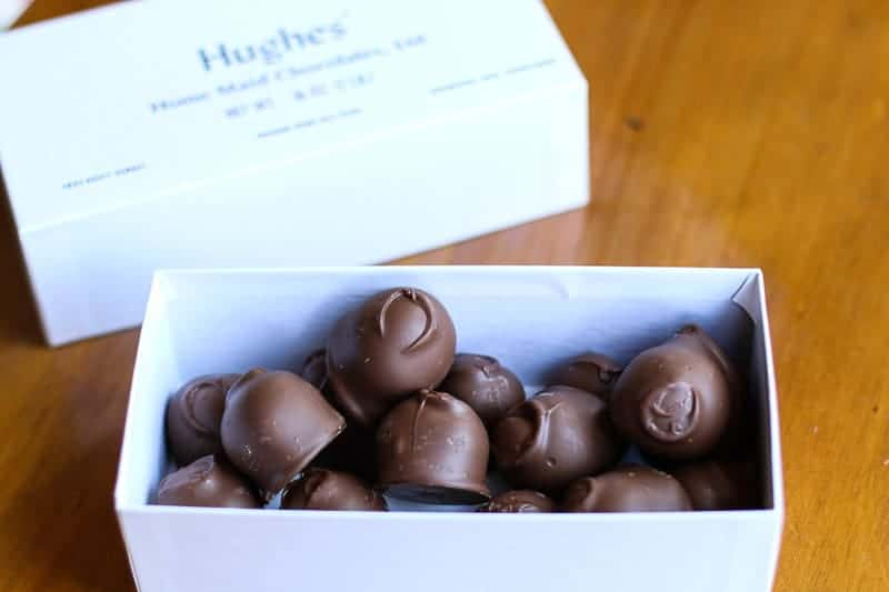 Milk Chocolate Covered Cherry from Hughes' Home Maid Chocolates