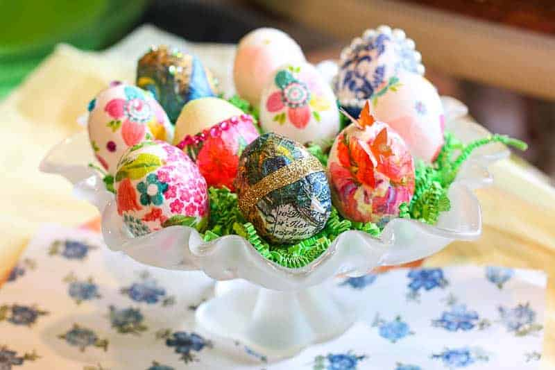 How to Decoupage Eggs