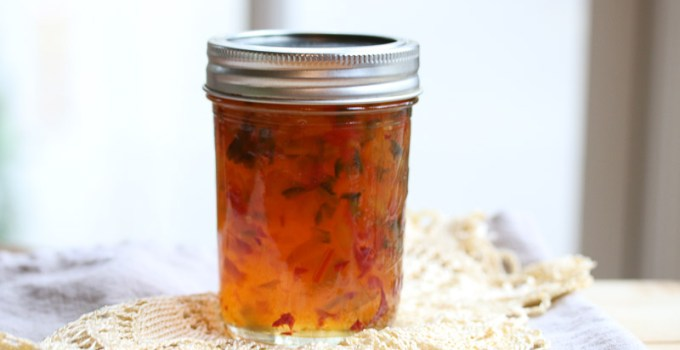 How to Make Homemade Hot Pepper Jelly