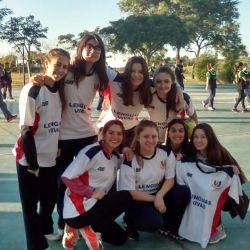 Santa Fe Juega. Equipos femeninos Sub 16 de Handball y Voley