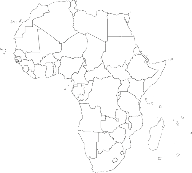 Africa Intelligence  exclusive news on Africa Africa Map