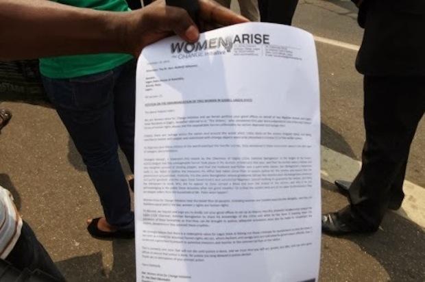 Ejigbo Women Protest 2
