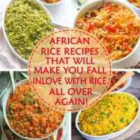 African Rice Recipes