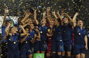 La France championne du monde cadette
