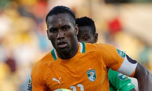 Didier Drogba of Ivory Coast