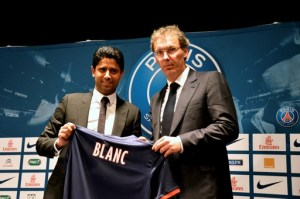 FOOTBALL : Presentation Laurent Blanc - Nouvel entraineur du Paris Saint Germain - 27/06/2013