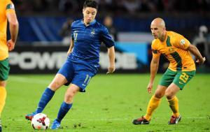 FOOTBALL : France vs Australie - Match Amical - 11/10/2013