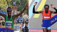 Geoffrey Mutai-Priscah Jeptoo