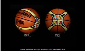 ballon officiel coupe du monde FIBA basketball 2014