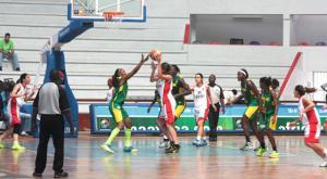 Afro basket dame
