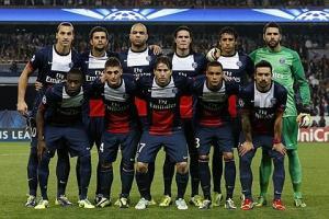 PSG équipe