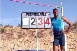mickael hanany_ record de france du saut en hauteur