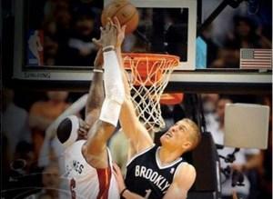 Mason Plumlee contre LeBron James_heat-nets