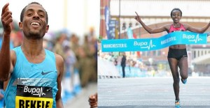 Bekele_Dibaba_Great Manchester Run