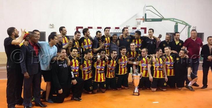 Handball super coupe d 39 afrique l 39 esp rance de tunis qualifi pour le mondial des clubs - Coupe d afrique handball ...