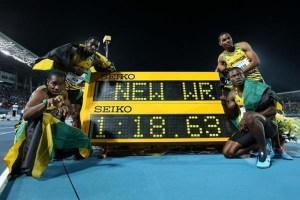 jamaique record 4x200m