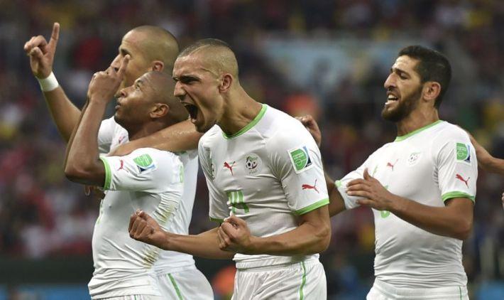 Algérie joie une nvo