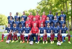 FOOTBALL : Photo officielle des 23 de l Equipe de France pour la Coupe du monde 2014 - 06/06/2014