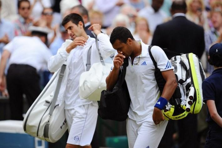 Novak Djokovic_Jo Wilfried Tsonga