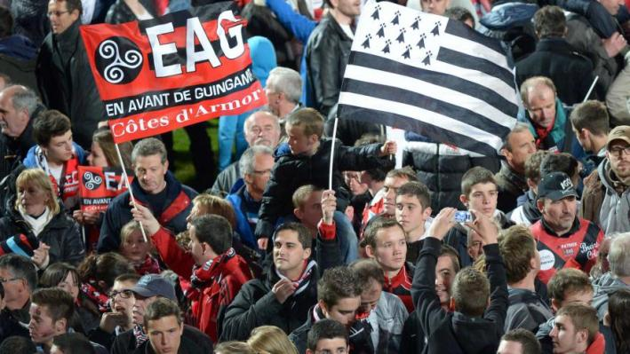 Guingamp supporter nvo