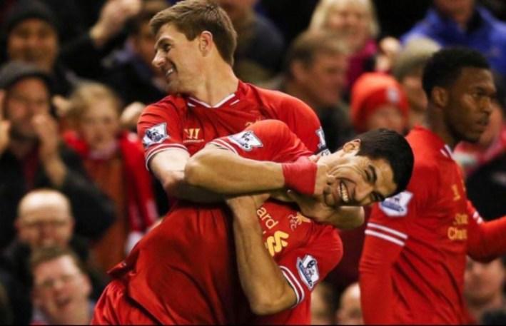 Suarez et Gerrard
