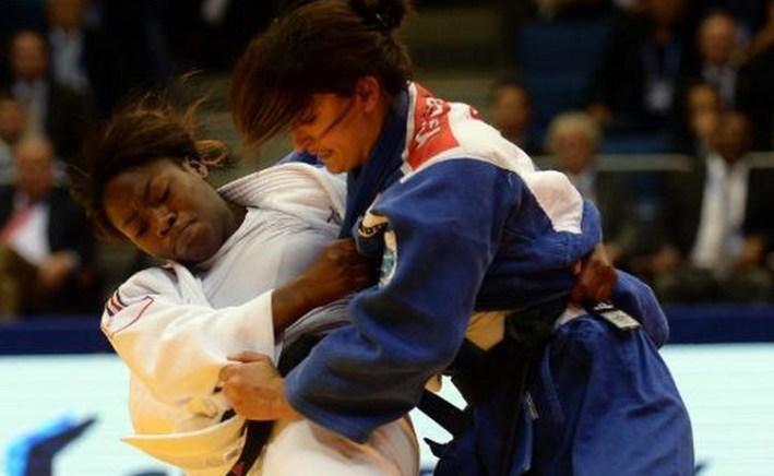 Clarisse Agbegnenou_franche championne du monde par équipe
