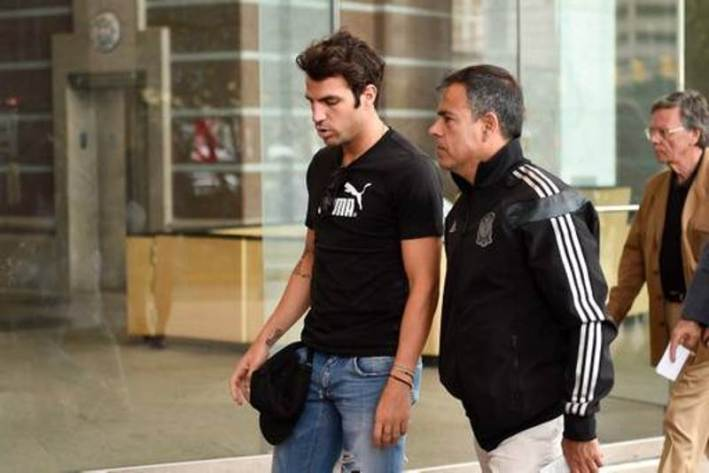Mourinho et Fabregas