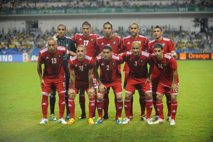 Football : Maroc / Tunisie - Coupe d Afrique des Nations - 23.01.2012 -