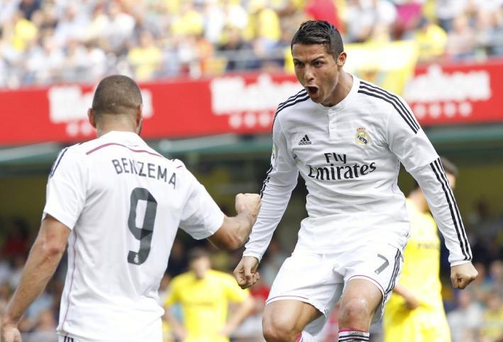 Cristiano et Benzema
