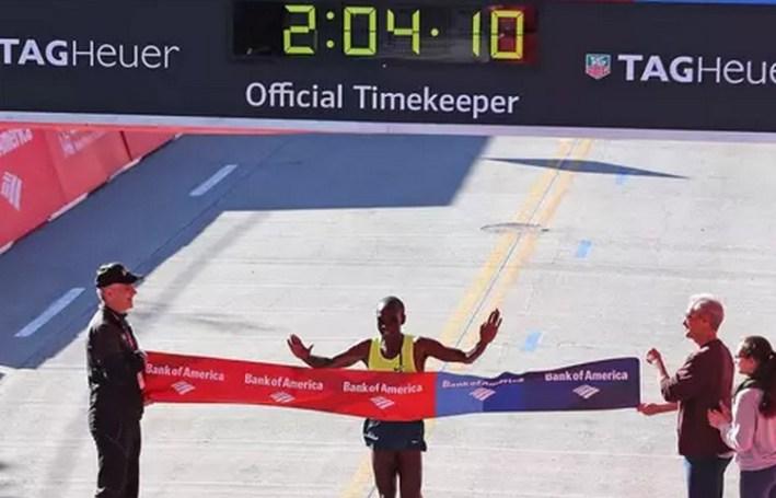 Eliud Kipchoge _marathon de chicago