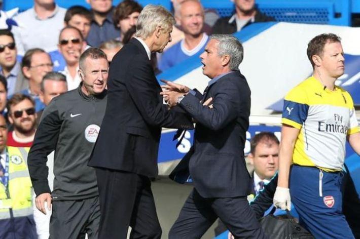 Wenger et Mourinho