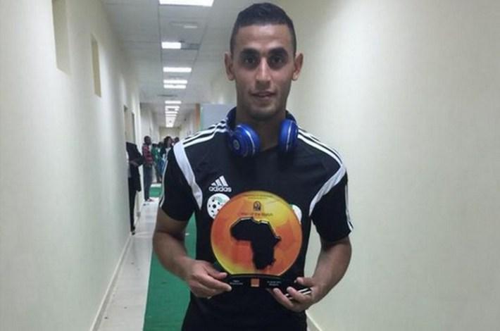 Faouzi Ghoulam_homme du match algerie-afrique du sud