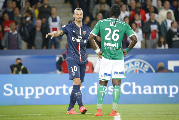 FOOTBALL : PSG vs Saint Etienne - Ligue 1 - Paris - 31/08/2014