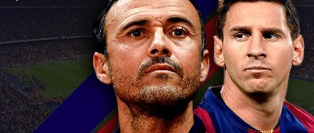 Enrique-Messi