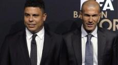 Ronaldo et zizou