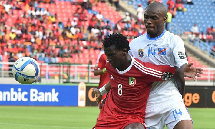 DR Congo's Gabriel Zakuani