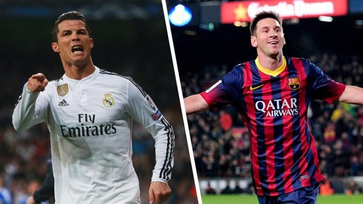 Clasico-Messi –Ronaldo