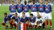 Desailly et les autres Bleus 1998