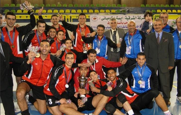 egypte champion d'afrique de volleyball 2015 u21
