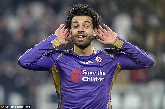Fiorentina-Mohamed Salah