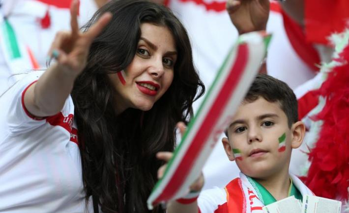 Iran supportrice