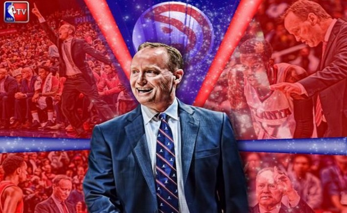 Mike Budenholzer  elu coach of the year de la NBA saison 2014-15